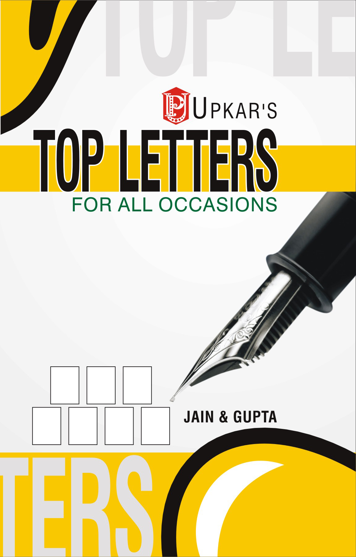 Buy Top Letters Book