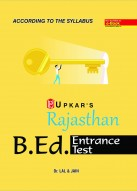Rajasthan B.Ed. Entrance Test