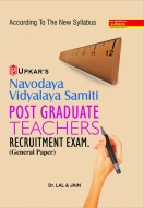 Navodaya Vidyalaya Samiti Post Graduate Teachers Recruitment Exam. (General Paper)