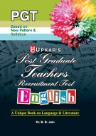 Post Graduate Teachers Recruitment Test English
