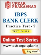 IBPS Bank Clerk Practice Test - 2