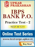 IBPS Bank P.O. Practice Test - 2
