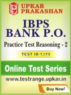 IBPS Bank P.O. Practice Test Reasoning - 2