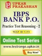 IBPS Bank P.O. Practice Test Reasoning - 2