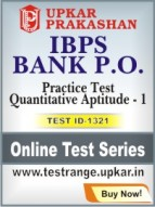IBPS Bank P.O. Practice Test Quantitative Aptitude - 1