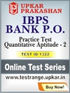 IBPS Bank P.O. Practice Test Quantitative Aptitude - 2