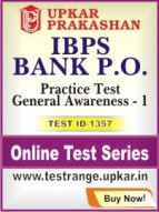 IBPS Bank P.O. Practice Test General Awareness - 1