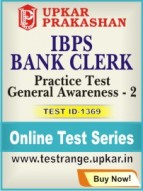 IBPS Bank Clerk Practice Test General Awareness - 2