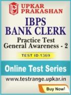 IBPS Bank Clerk Practice Test General Awareness - 2