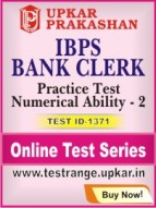 IBPS Bank Clerk Practice Test Numerical Ability - 2