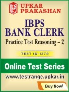 IBPS Bank Clerk Practice Test Reasoning – 2