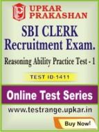 SBI Clerk Recruitment Exam. Reasoning Ability Practice Test - 1