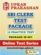 SBI Clerk Test Package