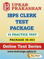 IBPS Clerk Test Package