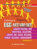 UGC NET/JRF/SET Labour Welfare and Industrial Relations, Labour and Social Welfare, Human Resource Management (Paper-II)