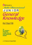 Multi Dimensional Junior General Knowledge For Class VII