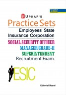 Practice Sets Employees State Insurance Corporation Social Security officer Manager Grade-II Superintendent Recruitment Exam