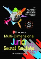 Multi Dimensional JUNIOR General Knowledge (For Class-VIII)