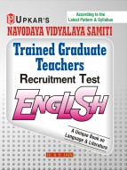 Navodaya Vidyalaya Samiti Trained Graduate Teachers Recruitment Test English.