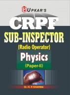 CRPF Sub-Inspector ( Radio Operator) Physics (Paper-II)