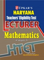 Haryana Teachers' Eligibility Test Lecturer Mathematics (Category-3)