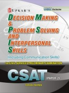 Decision Making & Problem Solving and Interpersonal Skills (For CSAT Paper-II)