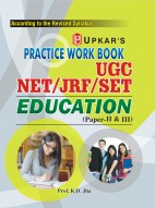 Practice Work Book UGC NET/JRF/SET Education (Paper-II & III)
