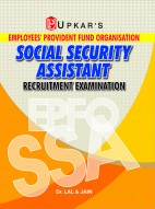 E.P.F.O. Social Security Assistant Recruitment Exam.