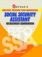 E.P.F.O. Social Security Assistant Recruitment Exam.