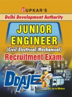 Delhi Development Authority Junior Engineer (Civil/Electrical/Mechanical) Recruitment Exam.