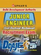 Delhi Development Authority Junior Engineer (Civil/Electrical/Mechanical) Recruitment Exam
