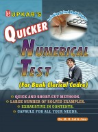 Quicker Numerical Test (For Bank Clerical Cadre)